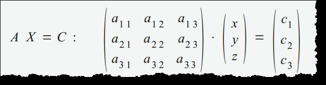 Lösen von linearen Gleichungssystemen in Excel als Matrix - Erhard ...