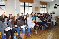 Imagem dos formandos da 1.ª sessão