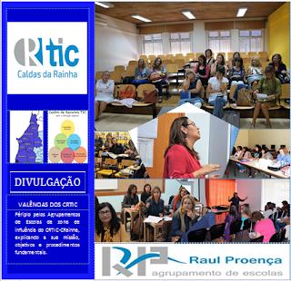 Imagens de atividades de formação do CRTIC-CR