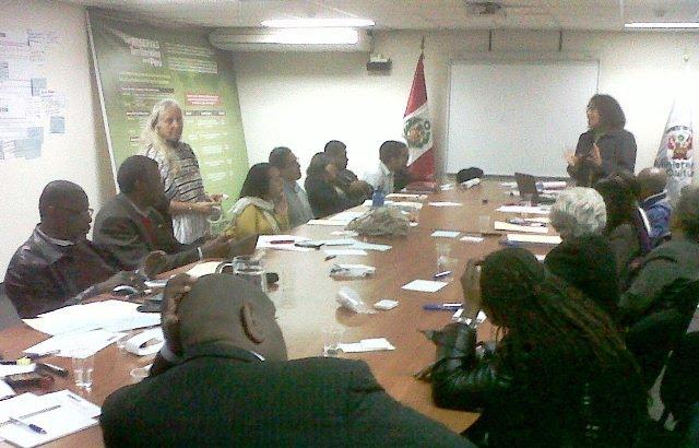 """Inicio de proceso de Facilitación de Diálogos sobre """"Lineamientos de Política para la Población Afroperuana"""""""