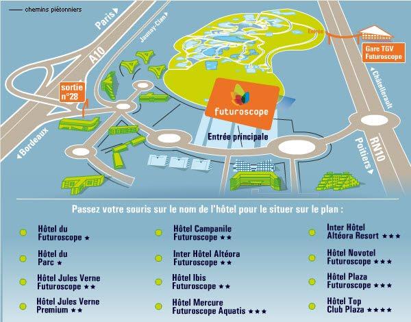 Plan des h tels paris 2010 for Site des hotels
