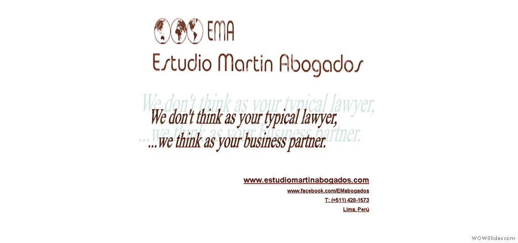 EMA - We don't think as your typical lawyer