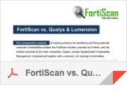 FortiScan vs. Qualys & Lumension, comparison.pdf