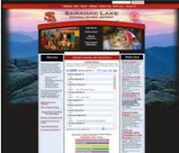 Saranac Lake website image link.