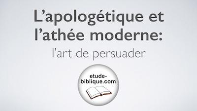 apologétique et l'athée moderne