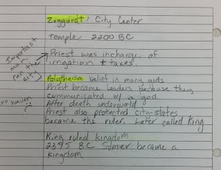 writing a chapter summary example