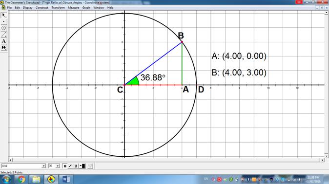 Trigonometric Ratios of Obtuse Angles - EVG Sec 3 Trigonometry