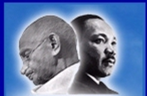 gandhi and martin luther king Martin luther king jr (january 15, 1929 – april 4,  king was inspired by mahatma gandhi and his success with nonviolent activism, and as a theology student, king described gandhi as being one of the individuals who greatly reveal the working of the spirit of god.