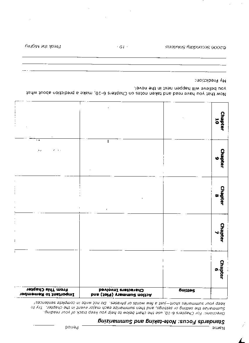 Worksheets Freak The Mighty Worksheets 6th grade jswenson attachments freak 6 10 jpg