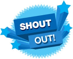Image result for shout outs