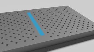 Photonic Crystal Enhanced THz Spectroscopy