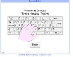http://www.doorwayonline.org.uk/typing/singlehanded/