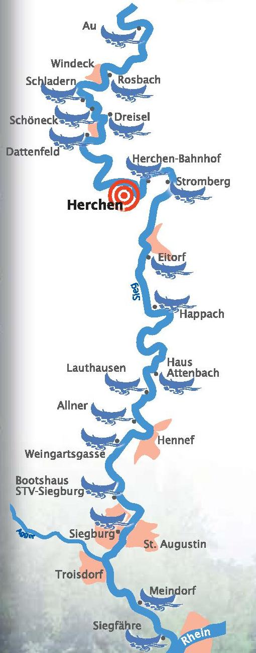 TOPO : ALLEMAGNE - Sieg : Descente de la SIEG(D) entre Wissen et Siegburg (76 km) Cours%20Sieg
