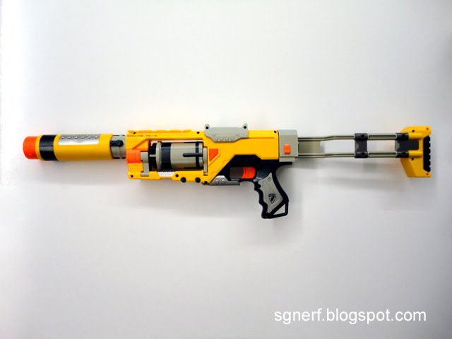 how to fix a jammed nerf vulcan