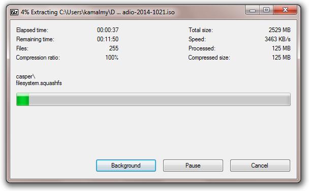 How to Install GNURadio Live on USB Stick - Kamaludin Mohamad Yusof