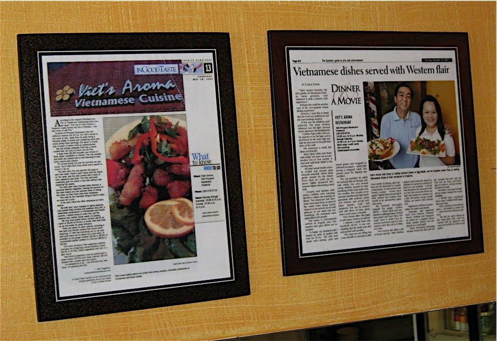 Viet's Aroma restaurant on news