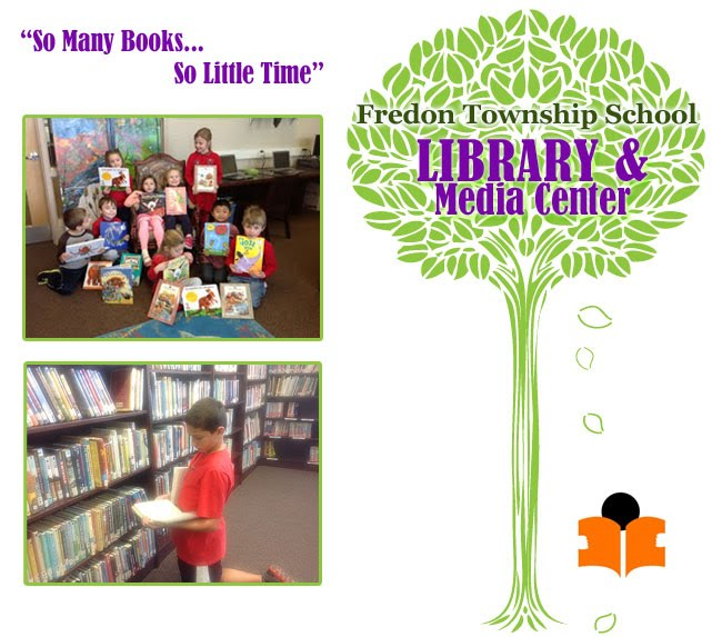 Welcome to the Fredon School Library and Media Center
