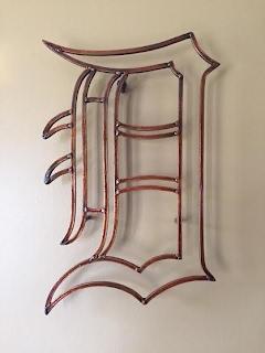 """English """"D"""" in Auburn Rust"""