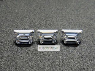 Step-cut-trapezoids-Cubic-Zirconia-White-Gemstones