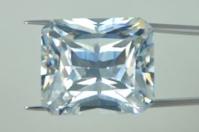 White Clear Color CZ Stone Octagon Princess Cut Wholesale