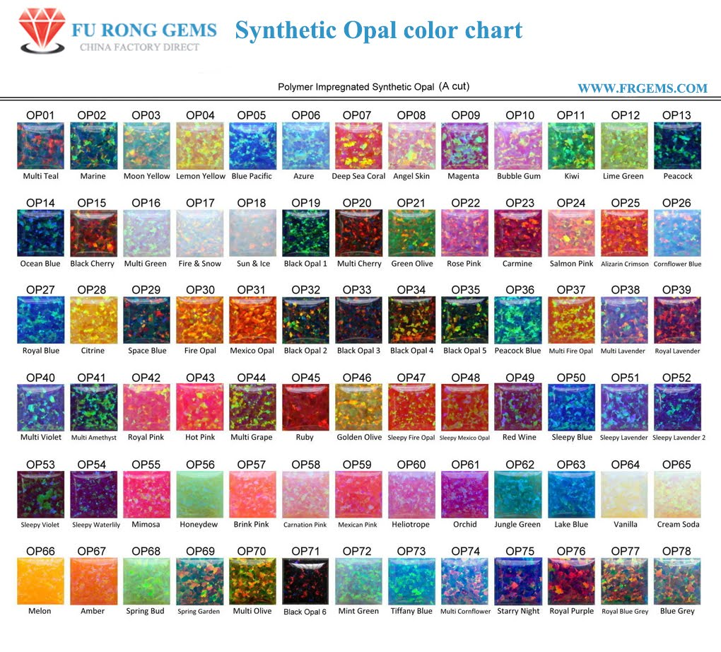 Nano gemstones and nano crystals wholesale and suppliers from nano gems color chart nvjuhfo Images