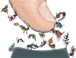gode og dårlige bakterier