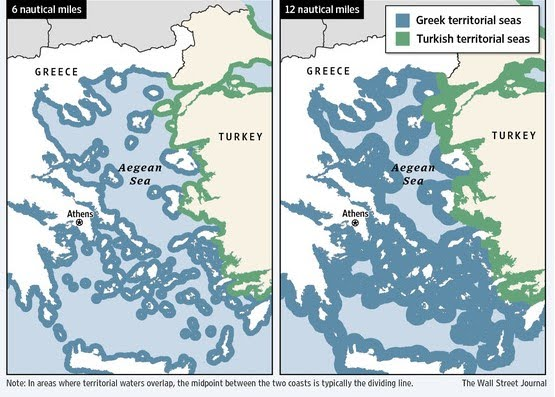 what are the only two countries on the aegean sea?