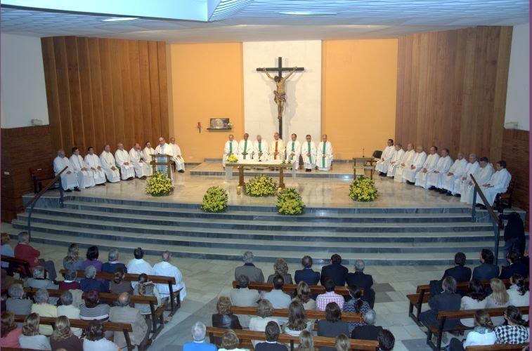 Eucaristía presidida por el P. Adolfo Nicolás