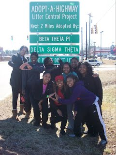 To be considered for membership in Delta Sigma Theta Sorority, Inc., how is community service evaluated?