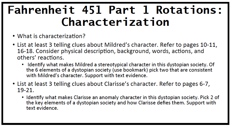 Fahrenheit 451 Clarisse Similes Custom Paper Academic Writing