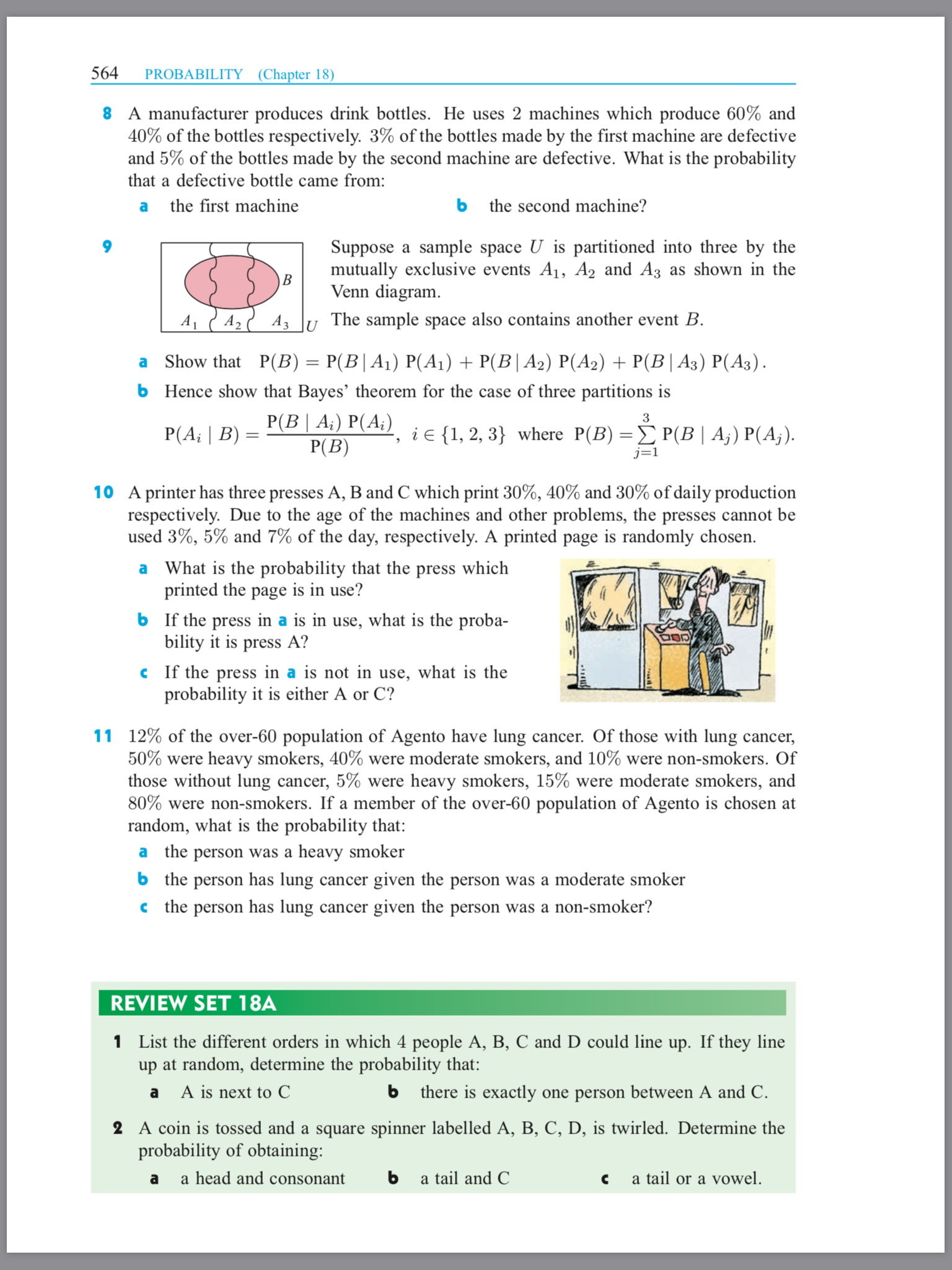 18 12  Bayes' Theorem - COPPELL IB MATH