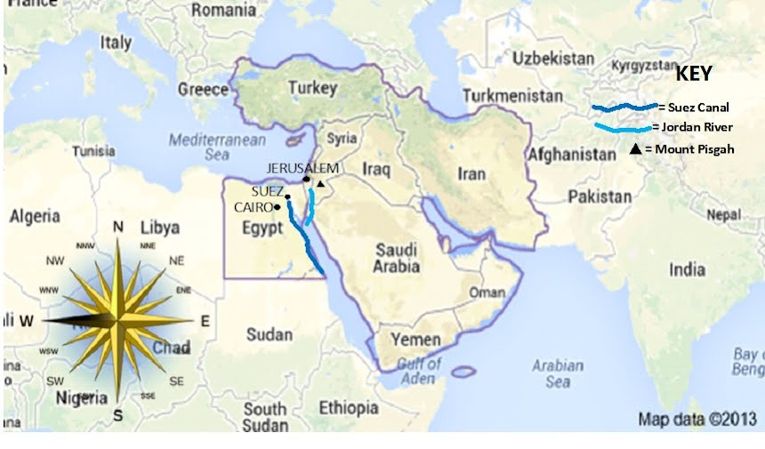Map Route Middle EastThe Missing - World map jordan river