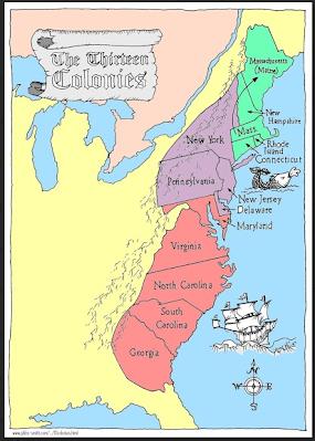 13 Colonies - Mrs. Hruby on cape fear map 13 colonies, google maps thirteen original colonies, 13 original colonies, historical map 13 colonies, detailed map of 13 colonies, google maps new england colonies, print map 13 colonies, 3d map 13 colonies, printable map 13 colonies,