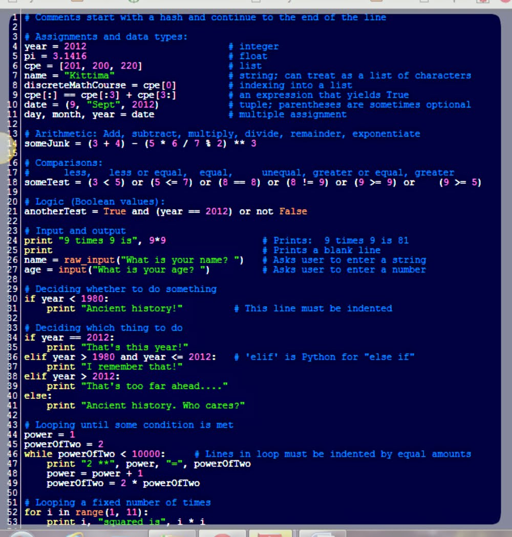 Useful Python refs - Kittima Me