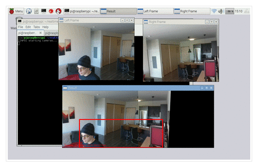 Real-time panorama and image stitching with OpenCV