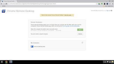 Chrome Remote Desktop - WHS Tutorials