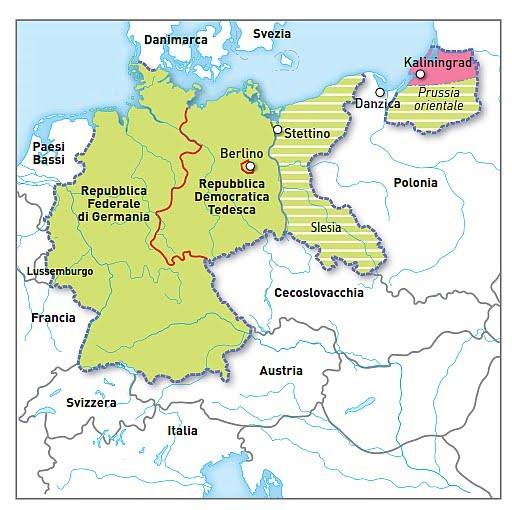 Cartina Urss.La Guerra Fredda E Il Mondo Bipolare