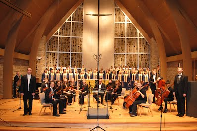 Chamber Orchestra, Chorale and Select Ensemble (January 21, 2013 at Peace Lutheran Church)