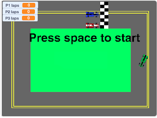 Student Created Racing Games - Mr Granahan