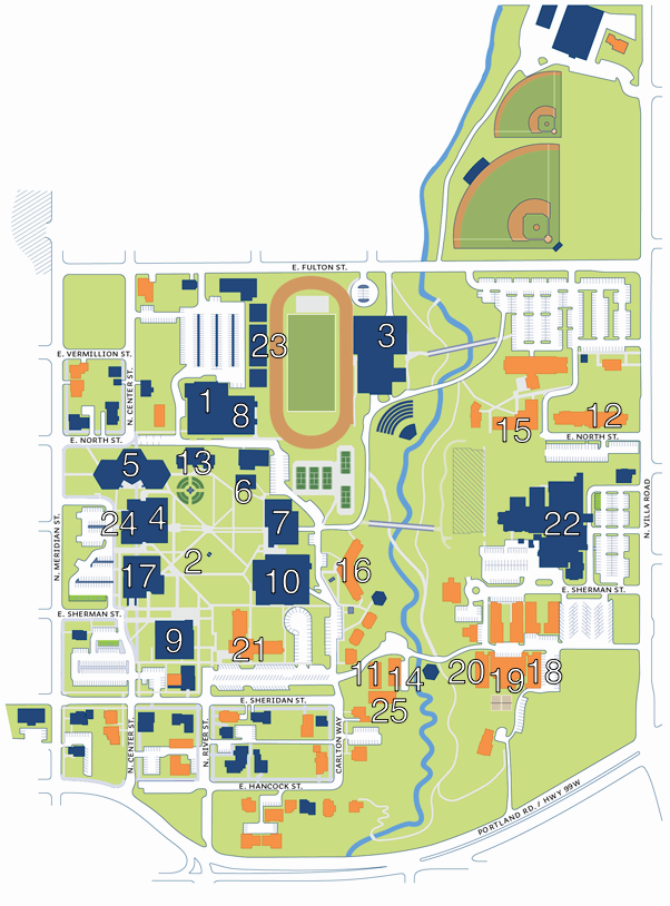 St George Campus Map Campus Map   History of George Fox University