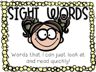 Image result for sight words