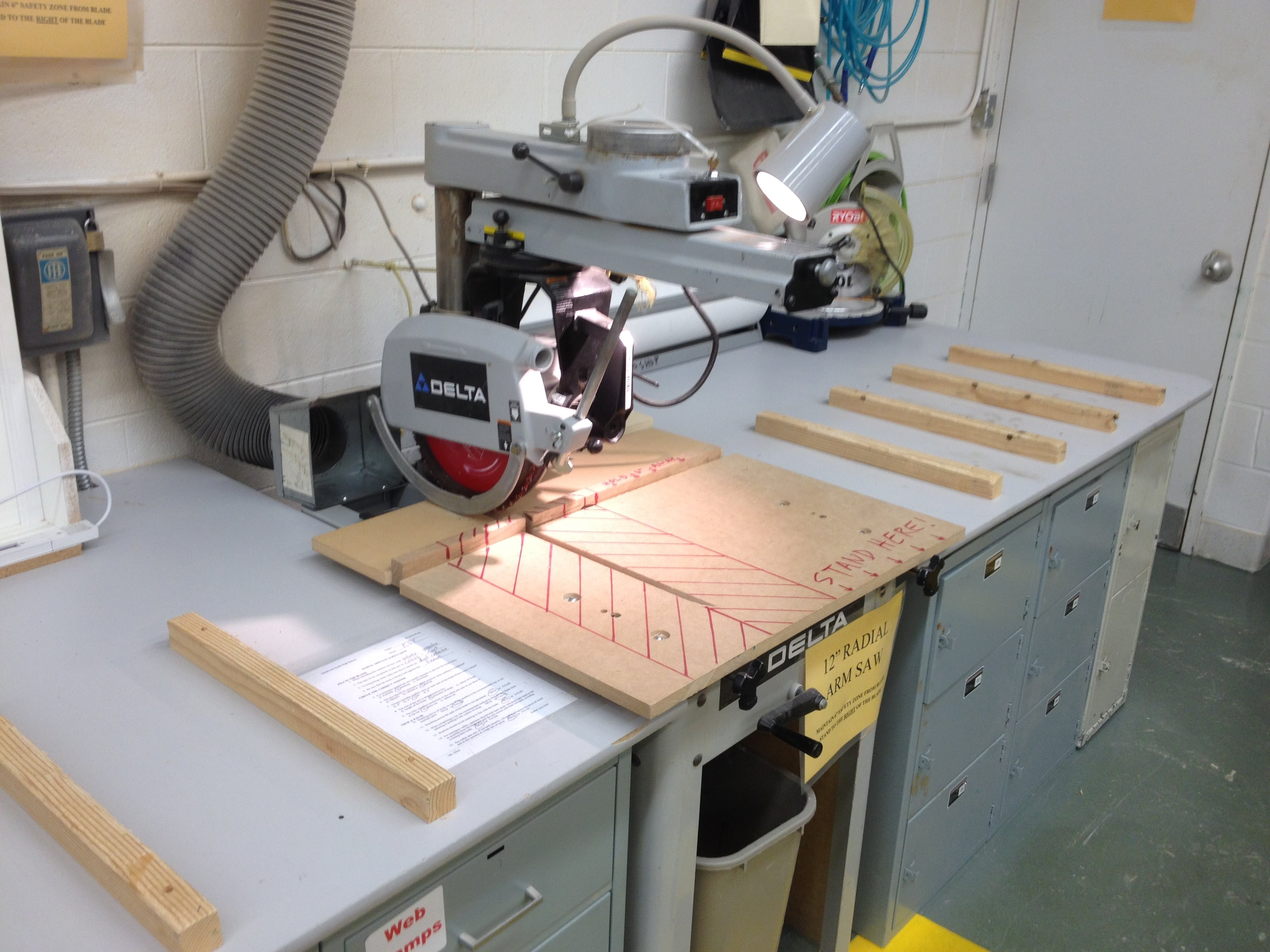 Radial Arm Saw Safety Gbs Woodworking