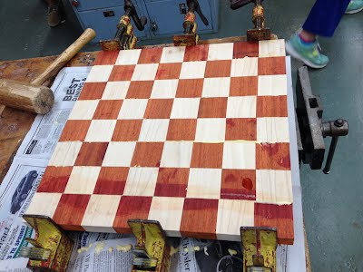 Chess Board - GBS Woodworking