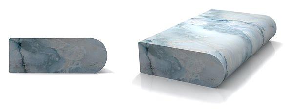 Full Bullnose Edge Global Granite