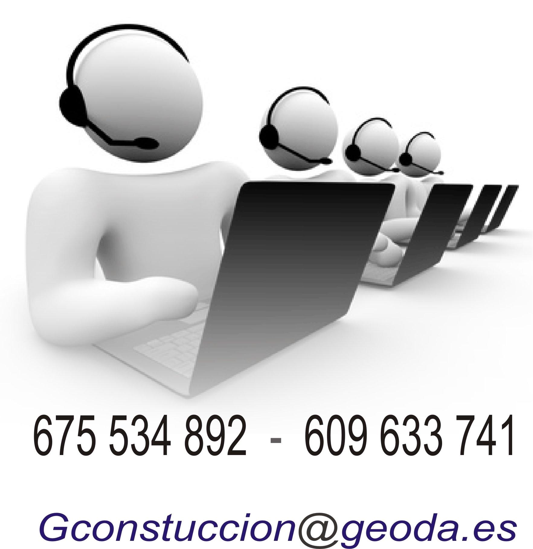 Contacto Geoda construcción