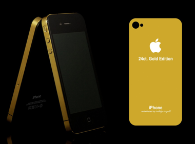 gold iphone 4 elite edition ( 24ct Gold, Rose Gold, Platinum )