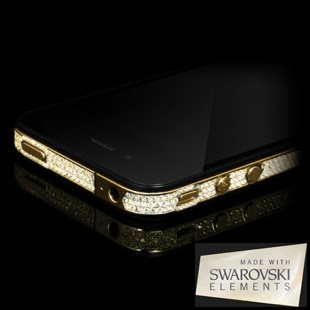 Click here to see pictures of Swarovski iPhone 4 Rim Crystallisation Service!