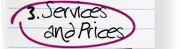 Services and Prices