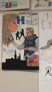Mr  Agrella's Hamlet Poster Project - Natomas High School