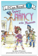 https://www.goodreads.com/book/show/1410640.Fancy_Nancy_at_the_Museum?from_search=true